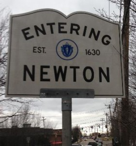 Sign: Entering Newton